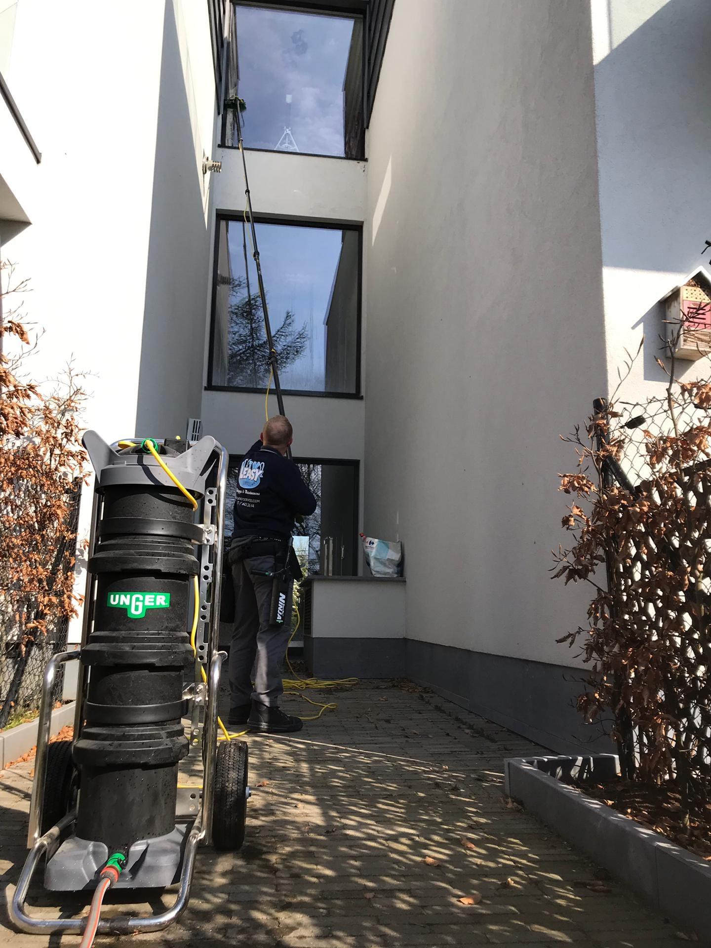 Nettoyage vitres Brabant Wallon